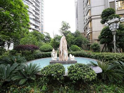 茶山6-a地块都府园景观绿化工程